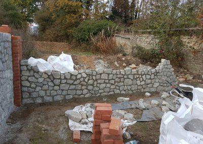 Stone Wall – Wateringbury