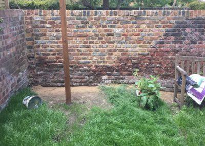 Garden Wall Dulwich
