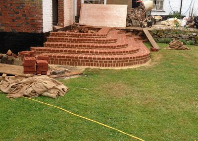 Curved Steps West Malling